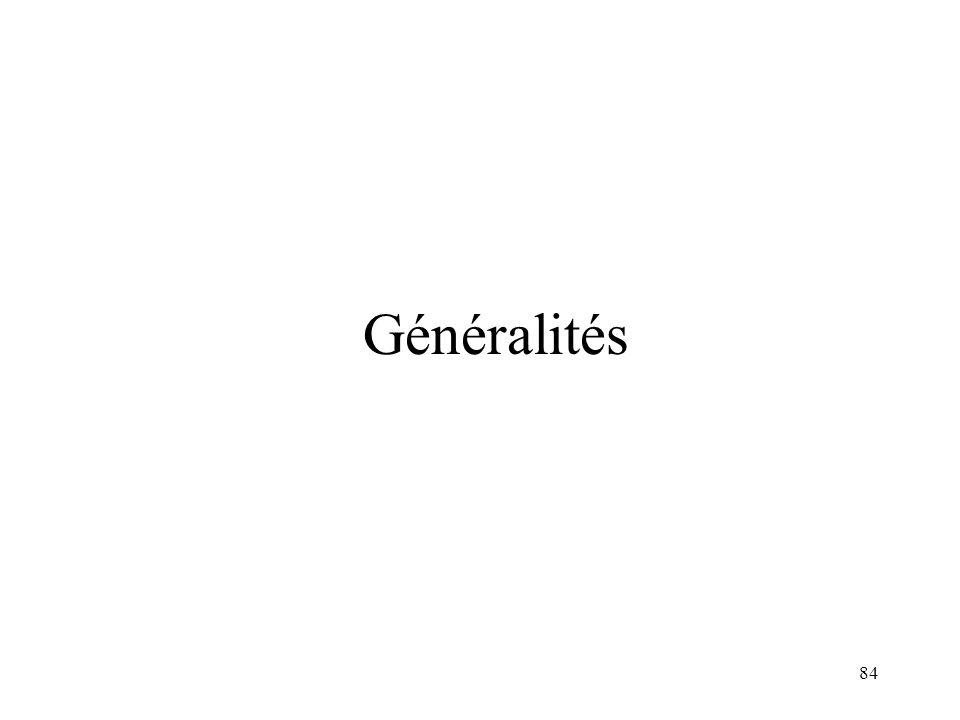84 Généralités