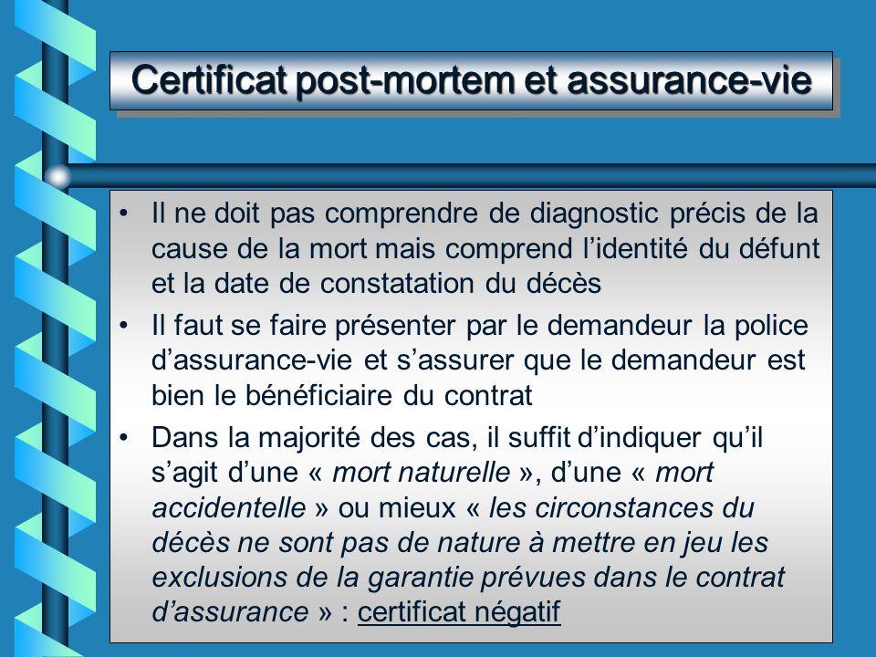 Certificats coutumiers…mais facultatifs Certificat pour voter par correspondance Certificats de non contagion, de non contre-indication à la vie en co