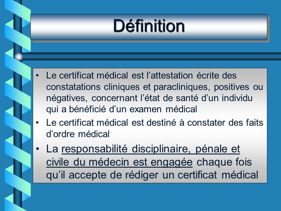 BibliographieBibliographie M.CALONI : Guide pratique de rédaction des certificats médicaux.