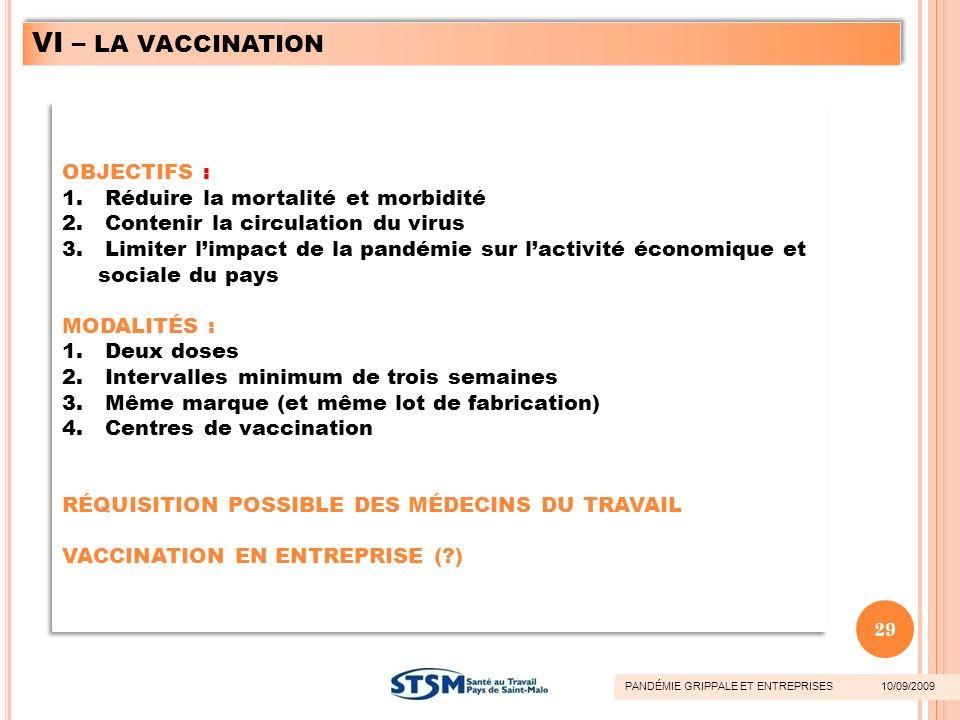 OBJECTIFS : 1. Réduire la mortalité et morbidité 2. Contenir la circulation du virus 3. Limiter limpact de la pandémie sur lactivité économique et soc