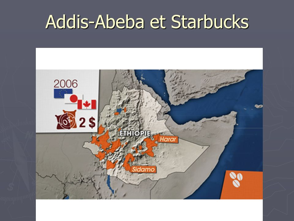 Addis-Abeba et Starbucks