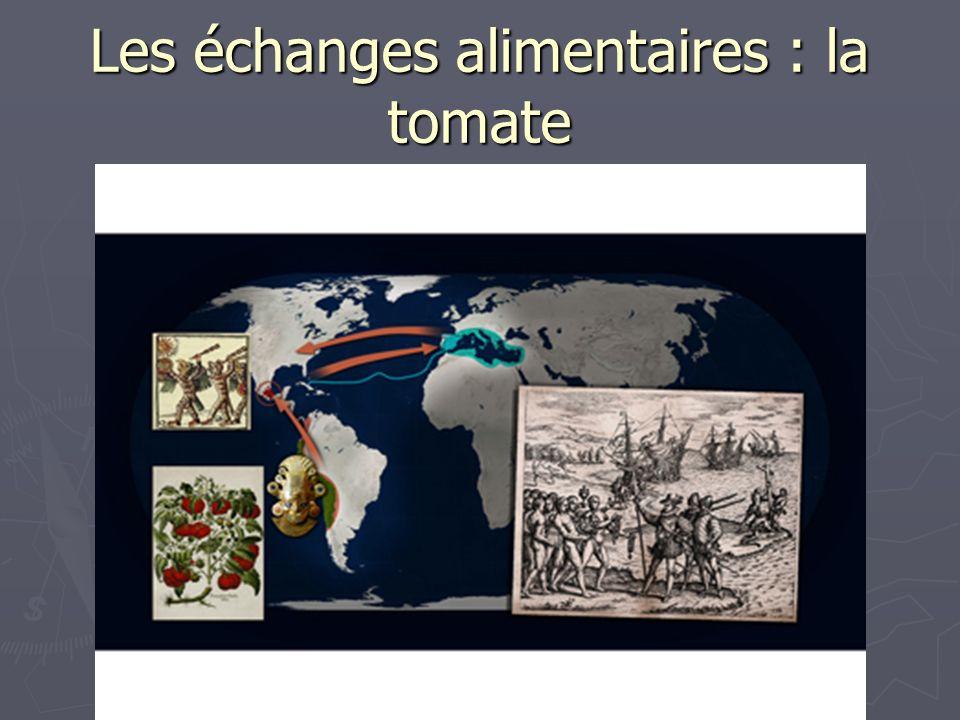 Les échanges alimentaires : la tomate
