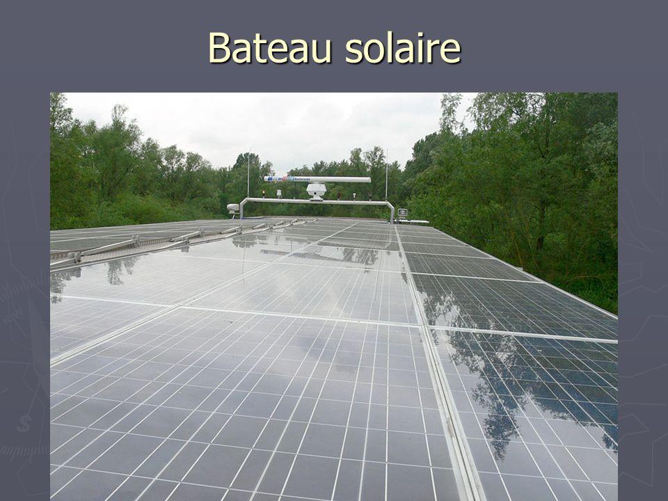 Bateau solaire