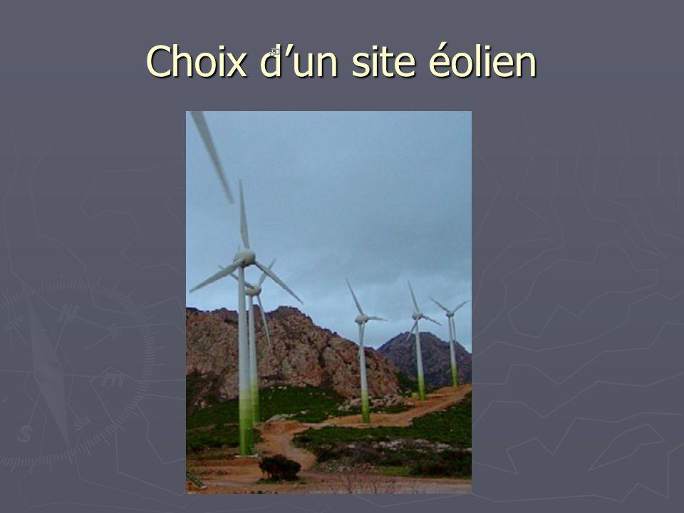 Choix dun site éolien