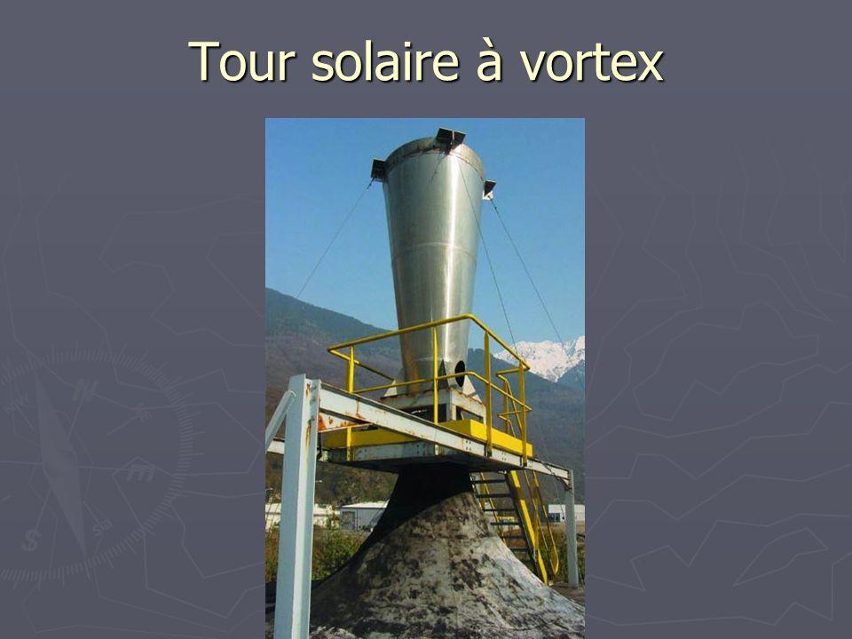 Tour solaire à vortex