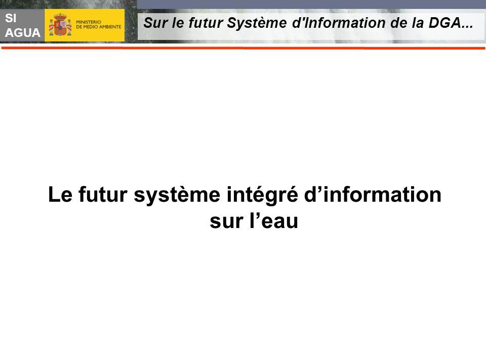 SI AGUA Sur le futur Système d'Information de la DGA... Le futur système intégré dinformation sur leau
