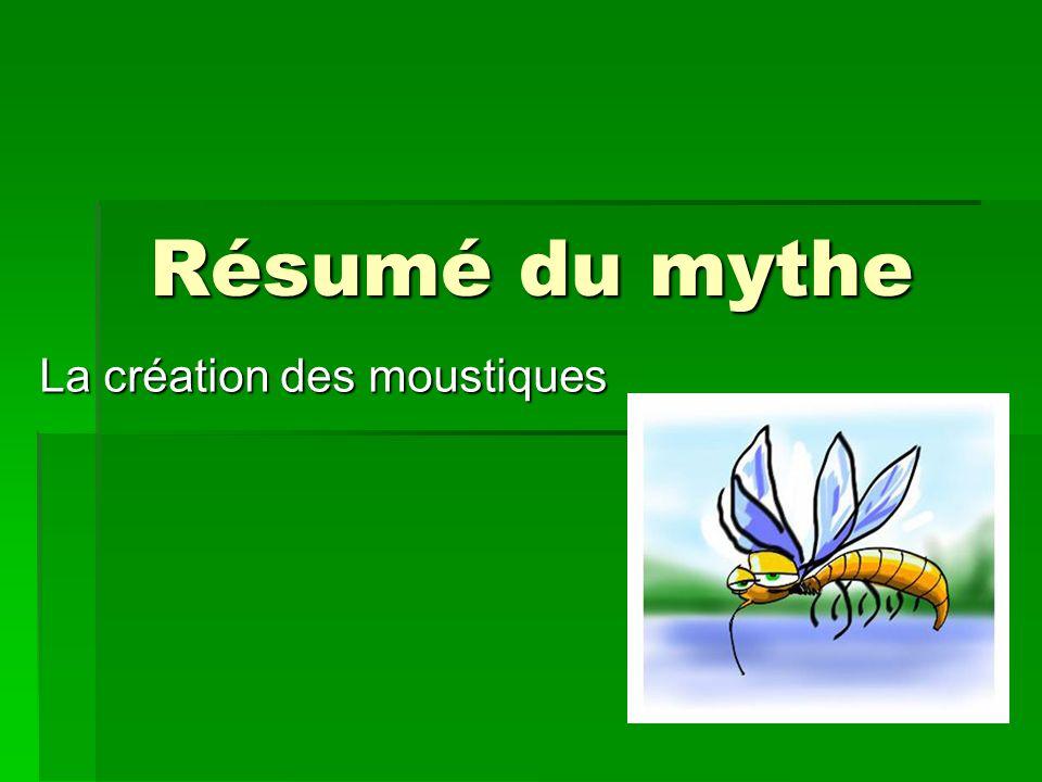 Résumé du mythe La création des moustiques
