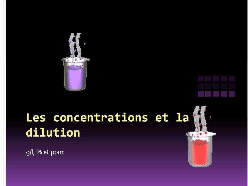m (soluté) = .v (solution) =225 L c (solution) = 35 g/L c m (soluté) v (solution) .