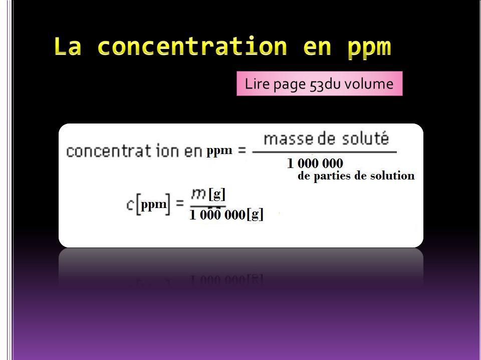 ? g 100 ml 2,7 g de soluté dans 100ml de solution ou 2,75% 2,75g 100 ml