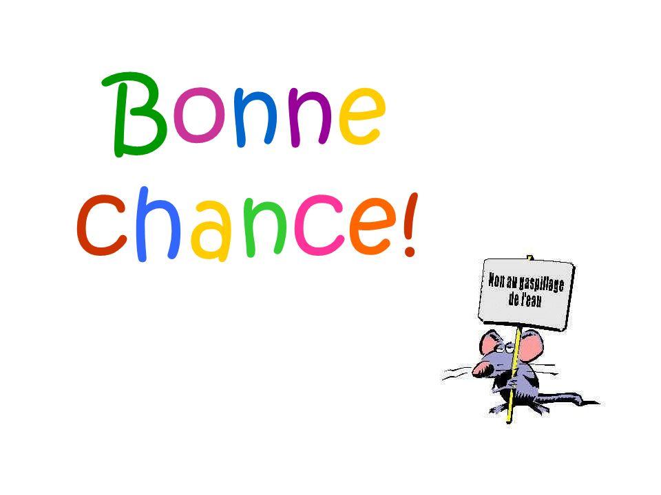 Bonnechance!Bonnechance!