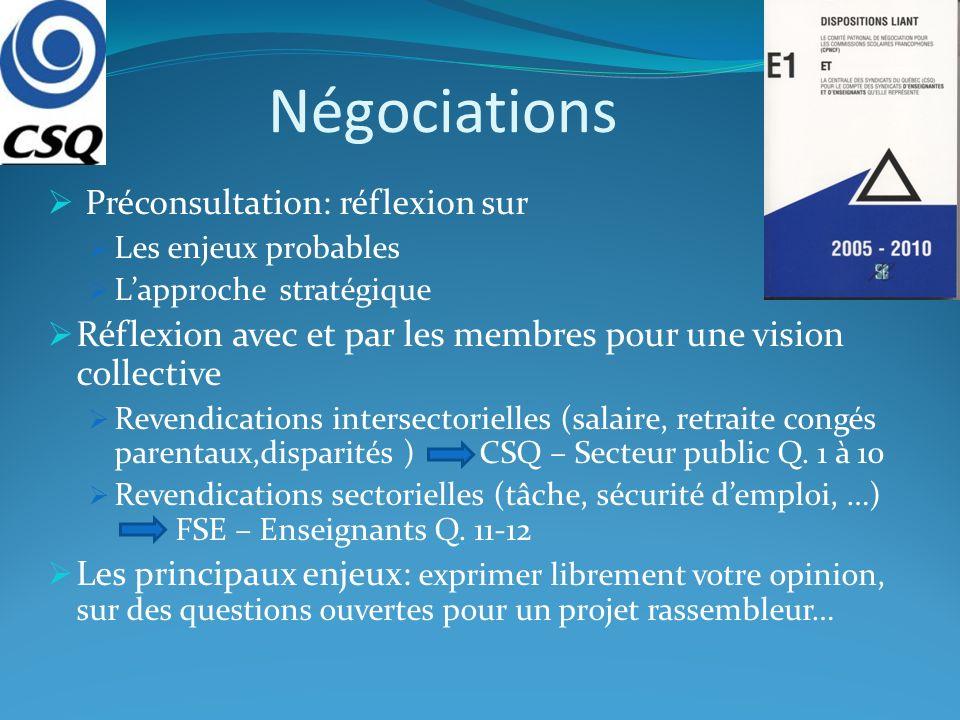 Négociations: le processus Question #7 : Partagez-vous lorientation à leffet de mettre de lavant une approche visant à réduire de façon importante la durée du processus de négociation?