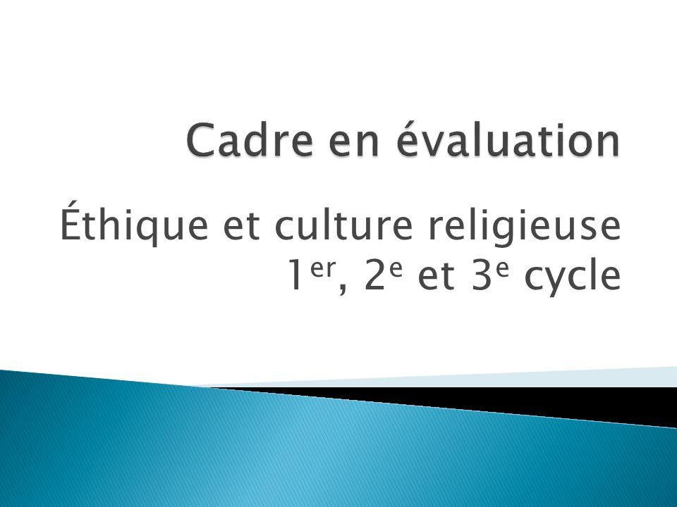 Éthique et culture religieuse 1 er, 2 e et 3 e cycle