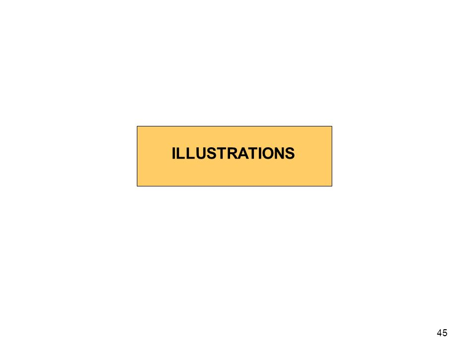45 ILLUSTRATIONS