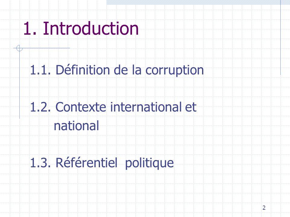 Présentation TOUGOURI Honoré, Président de la HACLC La Haute Autorité de Coordination de la Lutte contre la Corruption