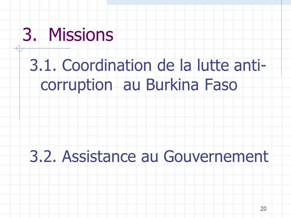 19 2.6. Arrêté n° 2003-009/PM du 8 août 2003 portant organisation et fonctionnement de la HACLC Pouvoir de représentation du Président auprès des stru