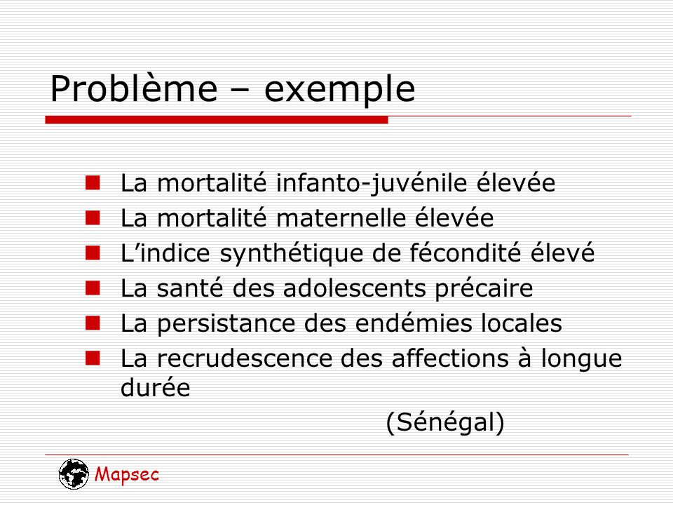 Mapsec Stratégie Lanneau entre le problème et la solution Analyse dalternatives Les grandes options Contraintes économiques, juridiques et institutionnels Mesures complémentaires Priorités Délibération politique