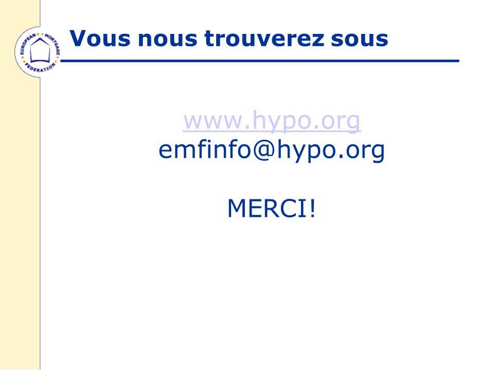 www.hypo.org www.hypo.org emfinfo@hypo.org MERCI! Vous nous trouverez sous