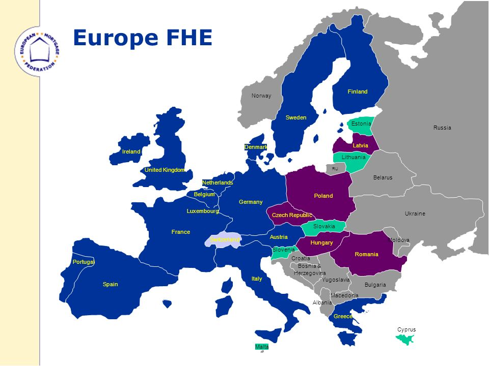 Europe - EMF Ireland United Kingdom Belgium Portugal France Luxembourg Spain Switzerland Germany Poland Austria Denmark Norway Sweden Finland Estonia Latvia Lithuania RU Belarus Ukraine Macedonia Bulgaria Bosnia & Herzegovina Yugoslavia Albania Slovenia Romania Croatia Moldova Russia Hungary Slovakia Czech Republic Greece Netherlands Italy Malta Cyprus Europe FHE