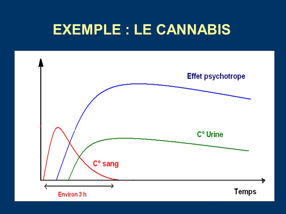 EXEMPLE : LE CANNABIS