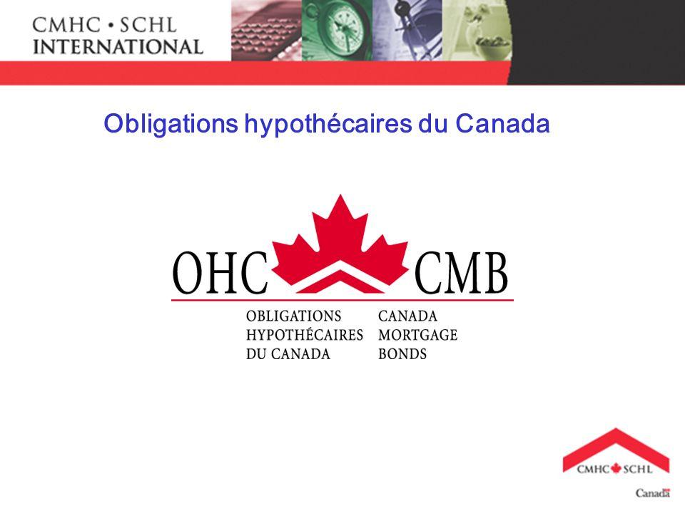 Obligations hypothécaires du Canada