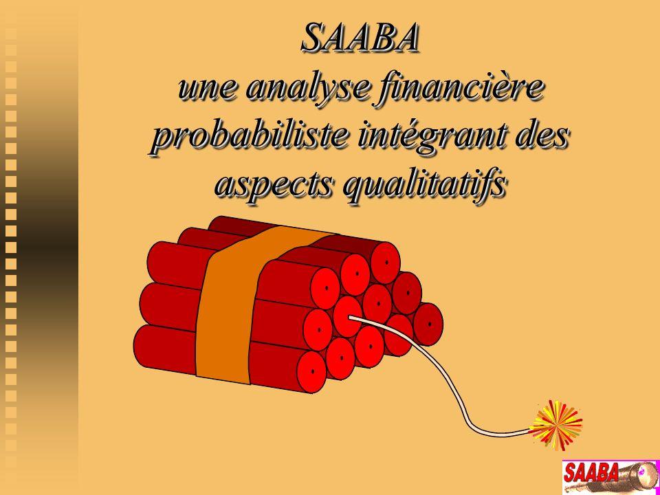 SAABA une analyse financière probabiliste intégrant des aspects qualitatifs
