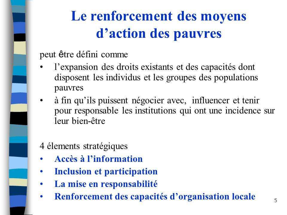 6 La mise en responsabilité sociale comme 3ième système de responsabilisation Responsabilisation administrative Respons.