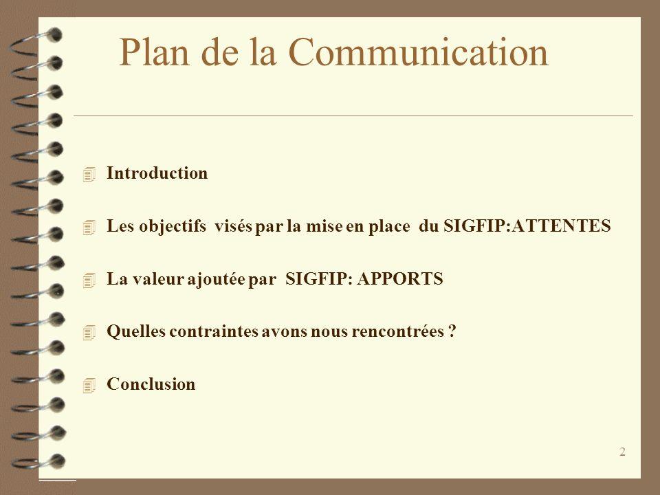 1 Mise en place dun Système Intégré de Gestion des Finances Publiques Dakar du 13 au 16 décembre 2004 Lexpérience du Sénégal: Attentes, Apports et Con