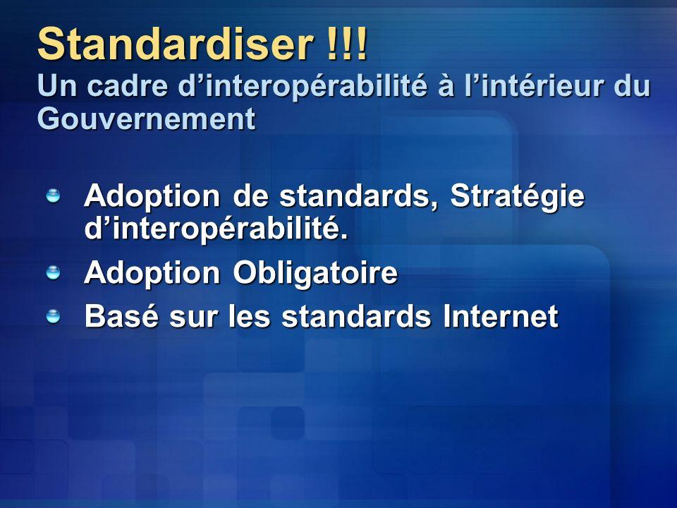 Standardiser !!.