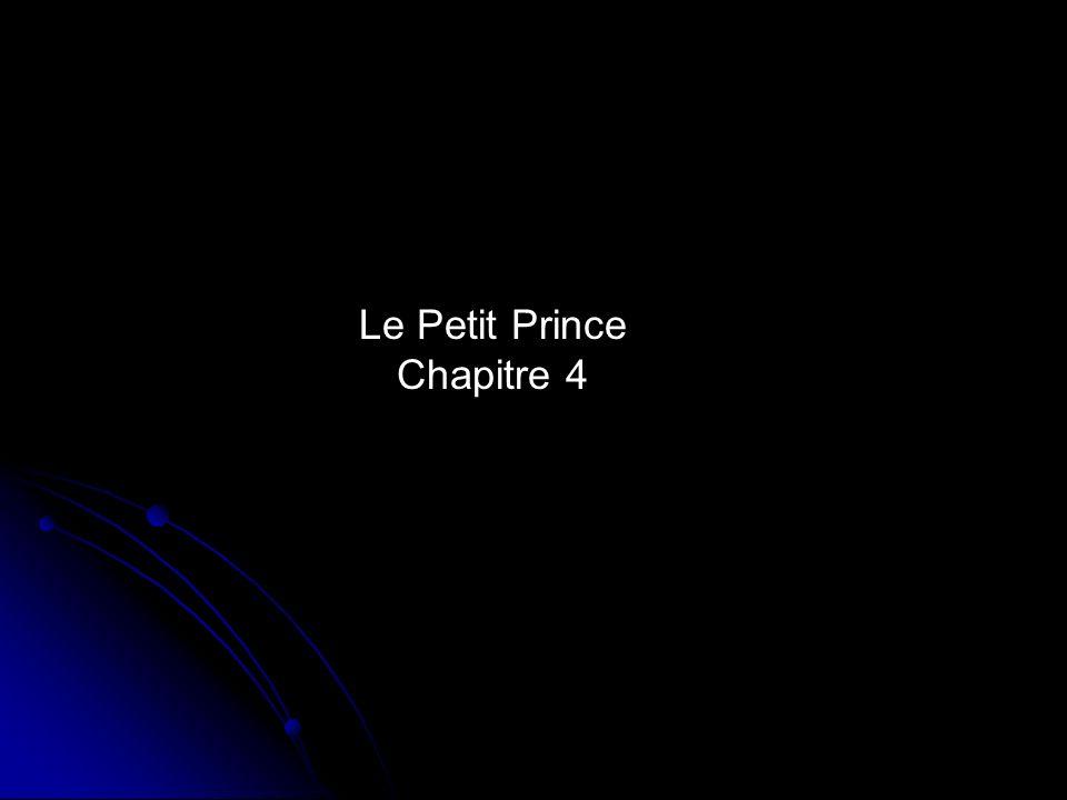 Les questions: 1.Qui est la seule personne à avoir aperçu la petite planète du Petit Prince.
