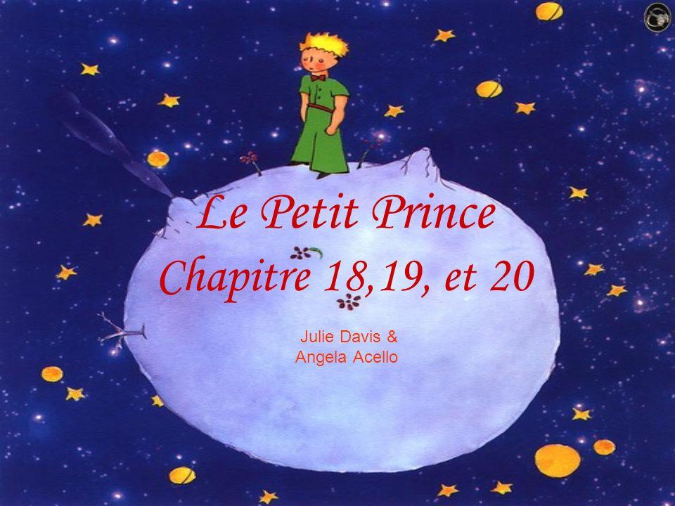 Julie Davis & Angela Acello Le Petit Prince Chapitre 18,19, et 20