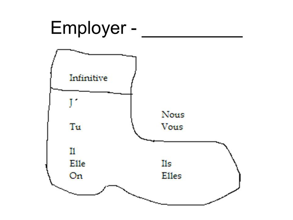 Employer - __________