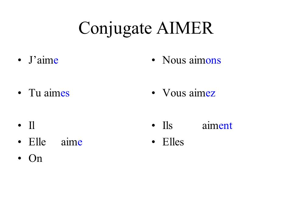 Stems for verbs ending in –oyer et –ayer Boot verb: y changes to i in all forms except infinitive, nous & vous