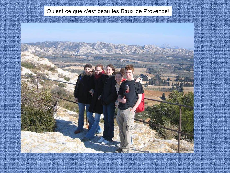Quest-ce que cest beau les Baux de Provence!