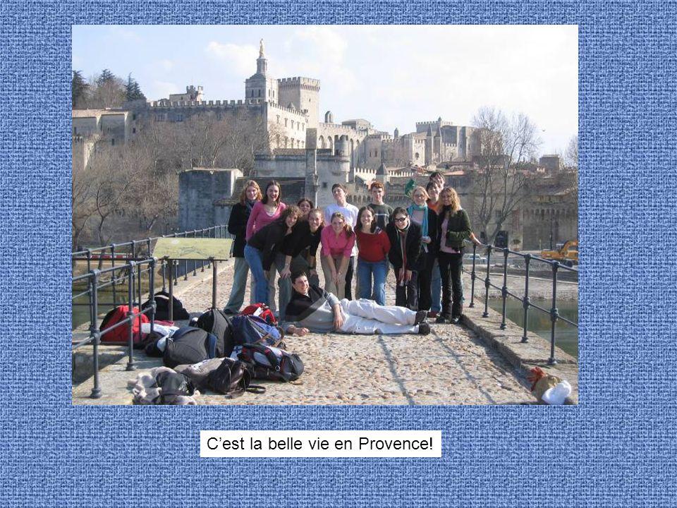 ... Cest la belle vie en Provence!