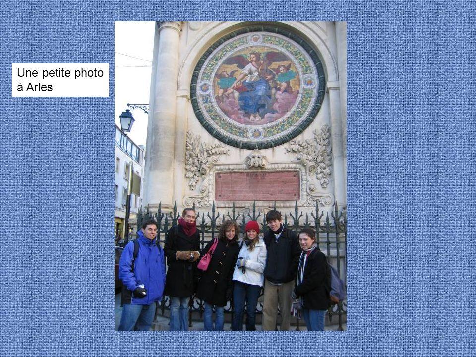 Une petite photo à Arles