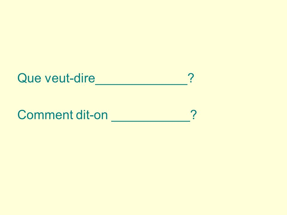 Traduisez en français 1. You (pl.) lose things when you do not use your backpacks.