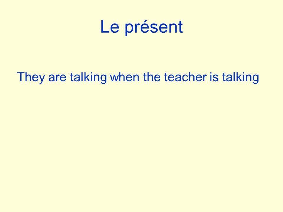 Les terminaisons: verbes -er Je Tu Il/elle/on Nous Vous Ils/elles Drop –er add: