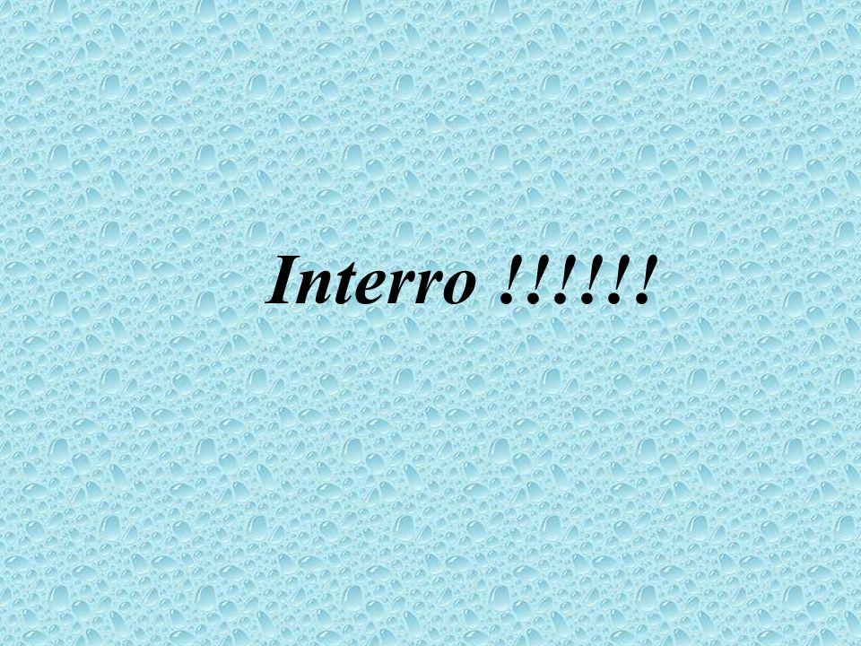 Interro !!!!!!