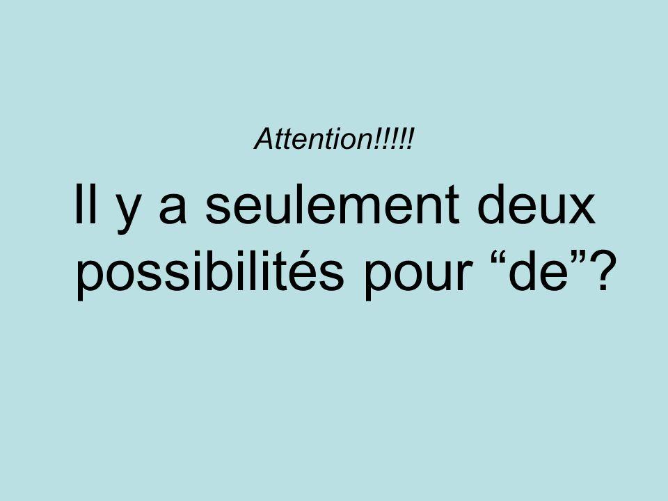 Attention!!!!.