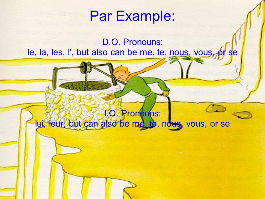 Also... y replaces à + noun and en replaces de + noun