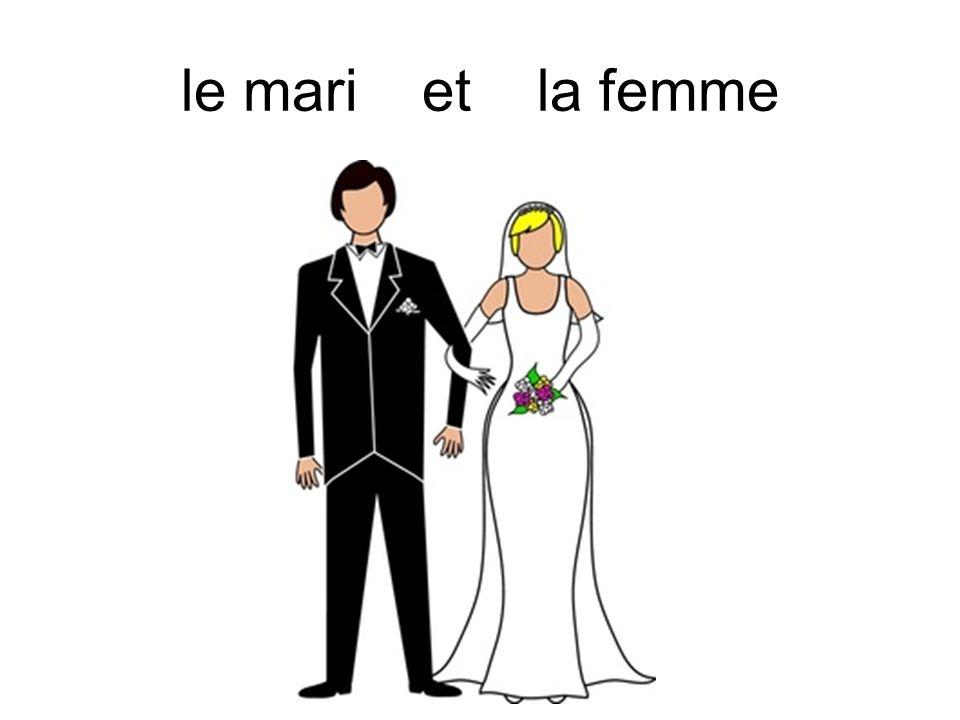 le mari et la femme