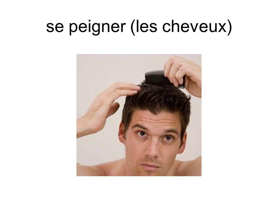 se peigner (les cheveux)