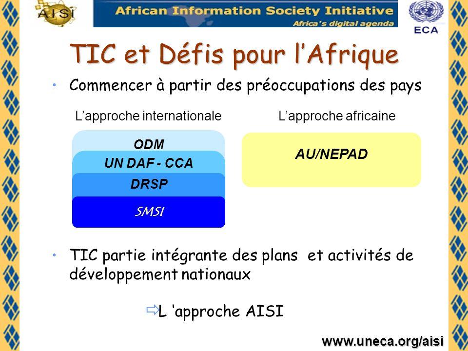 www.uneca.org/aisi the A frican I nformation S ociety I nitiative Initiative pour la Société de lInformation en Afrique