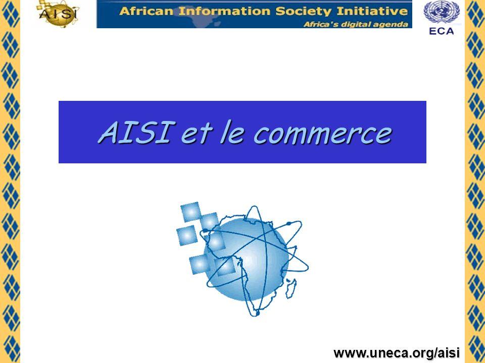 www.uneca.org/aisi Le commerce tel que défini par lAISI en 1996 Para.