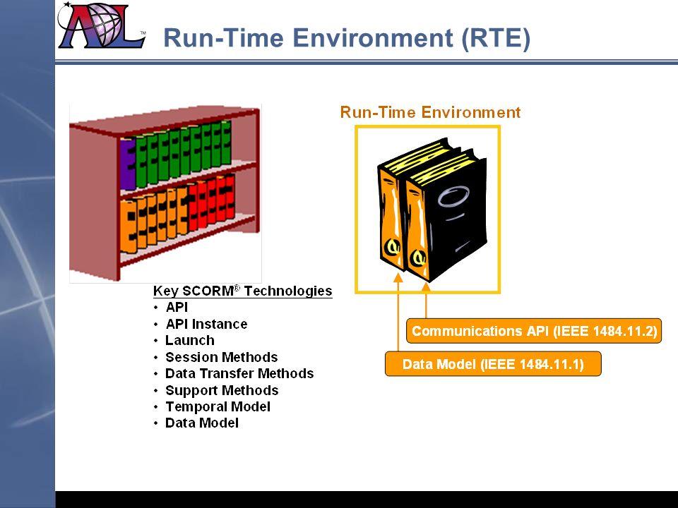 Run-Time Environment (RTE)