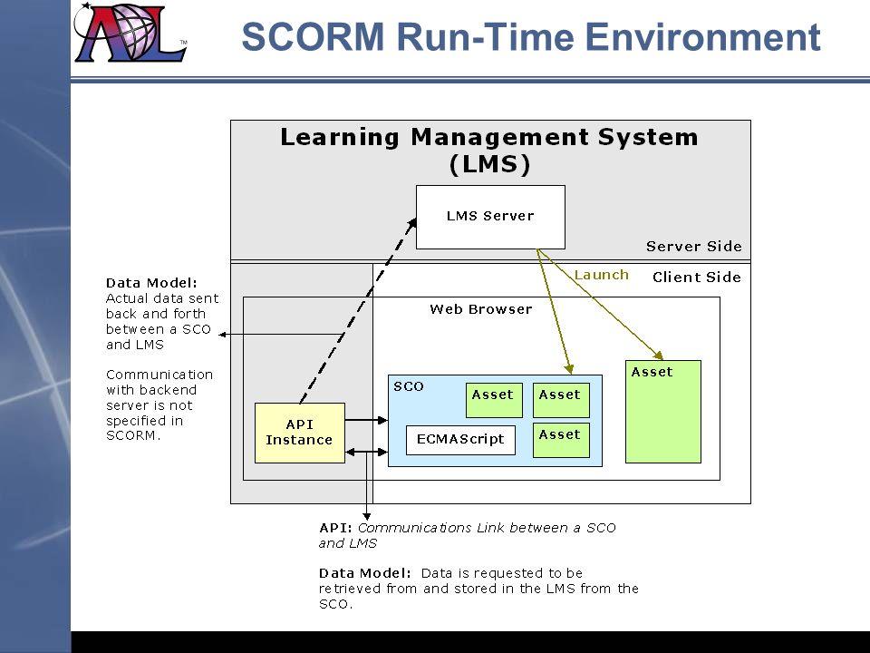 SCORM Run-Time Environment