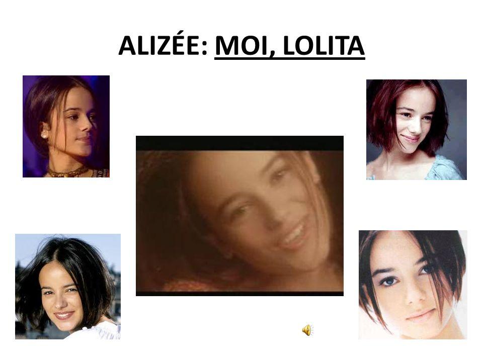 ALIZÉE: MOI, LOLITA