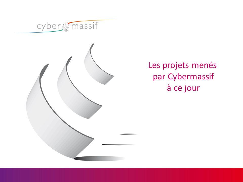 Les projets menés par Cybermassif à ce jour