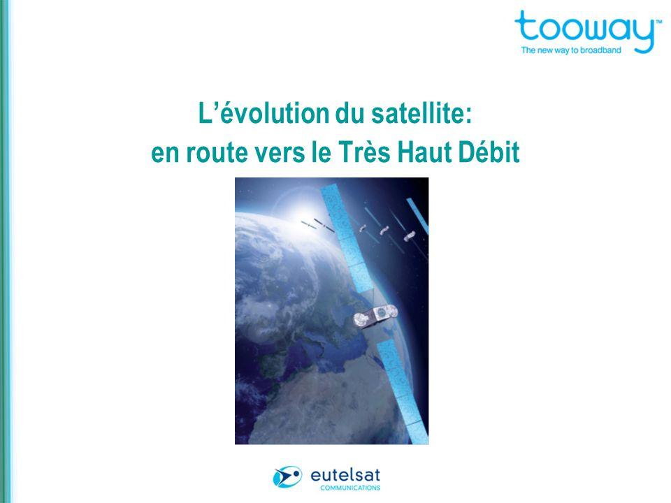 Lévolution du satellite: en route vers le Très Haut Débit