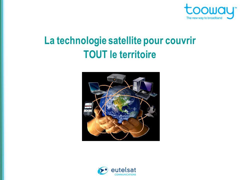 La technologie satellite pour couvrir TOUT le territoire
